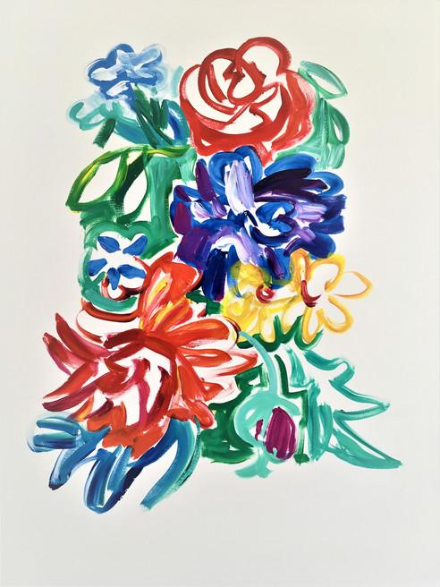 Acrylique marouflé sur toile - 55x75