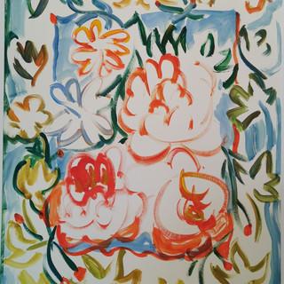 Acrylique marouflé sur toile - 60x80
