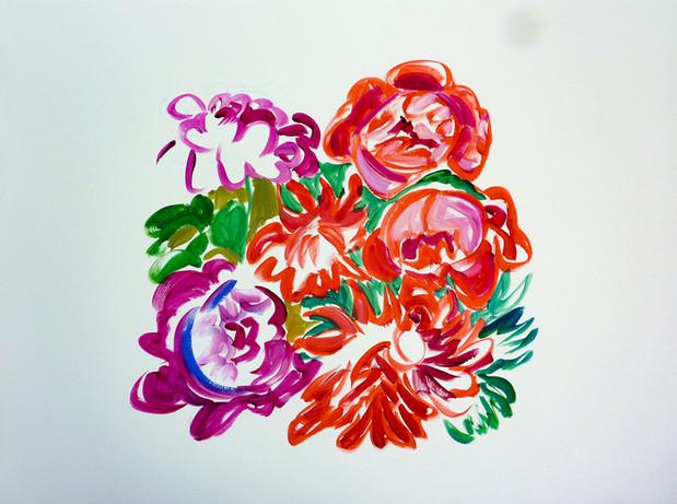 Acrylique marouflé sur toile - 50x70