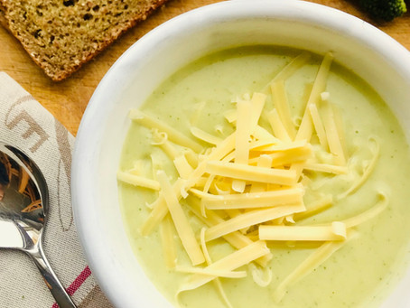 Broccoli, Cauliflower & Cheese Soup