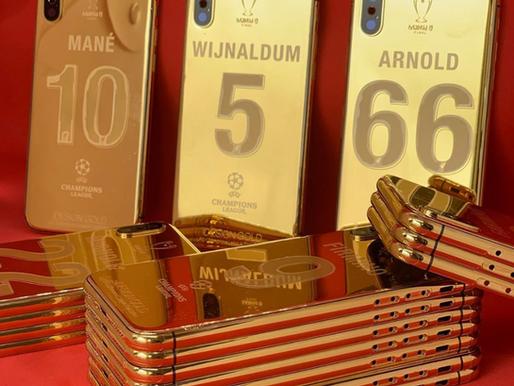 Des iPhone X en or pour récompenser les joueurs de Liverpool d'avoir remporté la Ligue des Champions