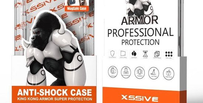 Coque de protection iPhone 12 / 12 Pro  Antishock magsafe transparente