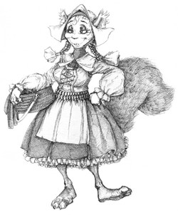 Character Drafts Squirrel`s