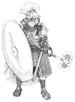 Character Drafts Centurion