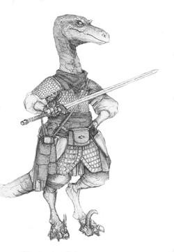 Character Drafts Raptor