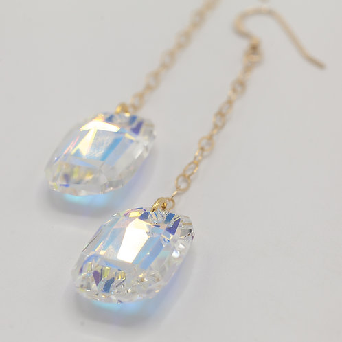 Swarovski Drops - Crystal AB