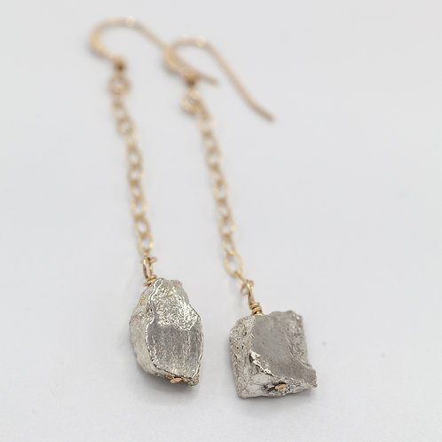 Gold Pyrite Drops
