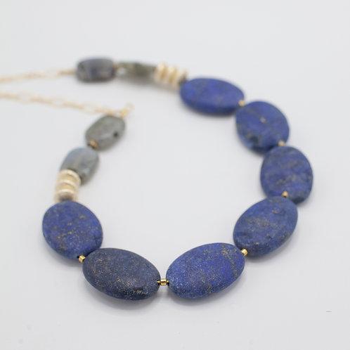 Lapis Labradorite Necklace