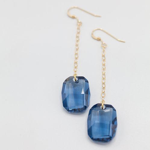 Swarovski Drops - Blue
