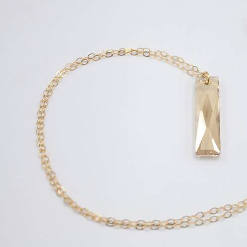 Swarovski QB Necklace