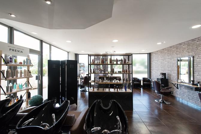 Reportage salon de coiffure