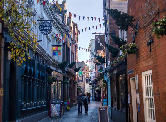 Exeter- Gandy Street