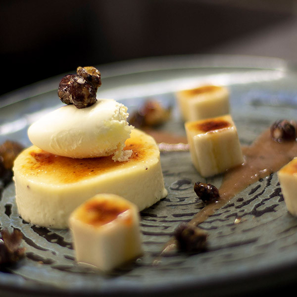 Bananas and custard - Brasserie the the