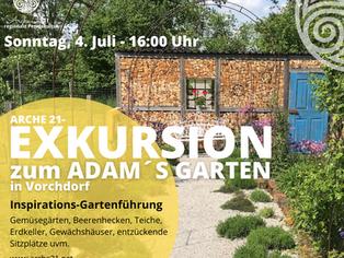 Exkursion - Adam´s Garten in Vorchdorf