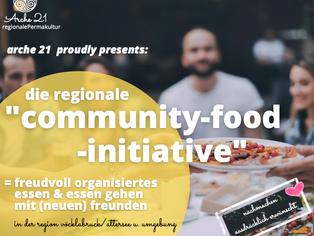 """Neu!""""Die regionale Community-Food-Initiative"""""""