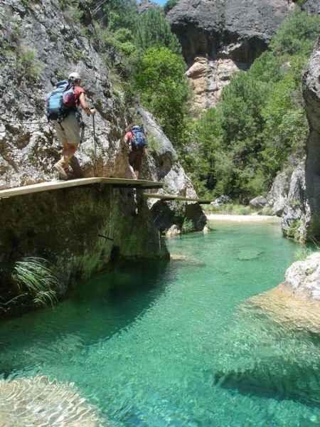 "Wandern im Naturpark ""Els Ports"""