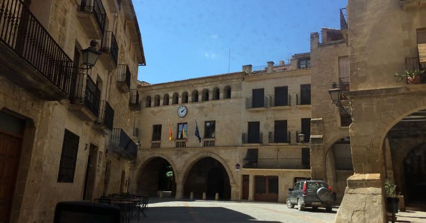 Calceite - das Dorf