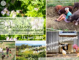 """""""Hof- und Natur-Exkursion""""zum Windischbauer.nHOF"""