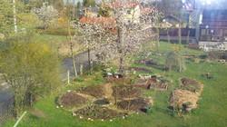 der Mandalagarten im Frühling