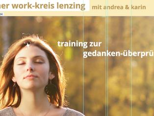 Work-Kreis Lenzing - neu ab September im Dorfsalon Lenzing