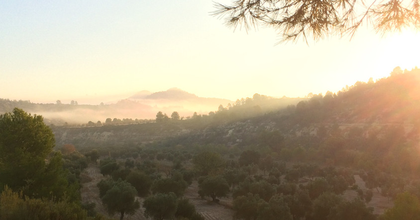 Sonnenaufgang im Tal