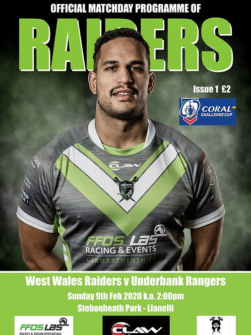 West Wales Raiders vs Underbank Rangers