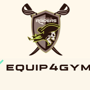 West Wales Raiders are pleased to announce a brand new partnership with Equip4Gyms.