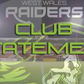 West Wales Raiders announce a brand new East Wales Raiders Wheelchair side.