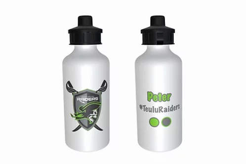 RAIDERS METAL WATERBOTTLE
