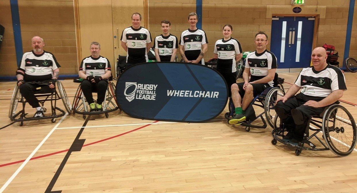 West Wales Raiders Wheelchair Team