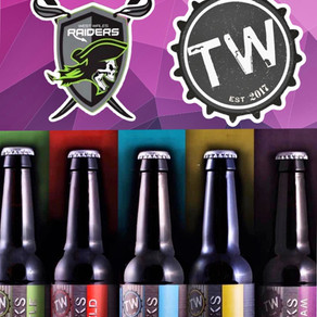 West Wales Raiders are pleased to add Tinworks Brewery as one of their kit sponsors for the 2021 sea