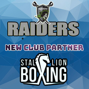 Stallion Boxing joins the ever-growing Raiders family for 2021.