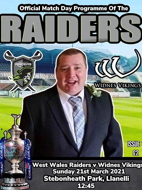 West Wales Raiders Vs Widnes Vikings