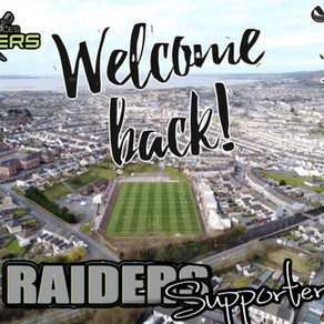 Raiders Welcome Supporters  Back
