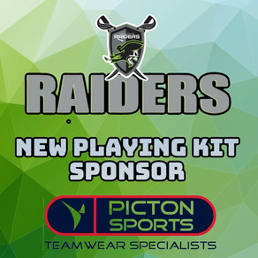 Welsh Kit Manufacturers Picton Sports become Raiders playing kit sponsor for 2021.