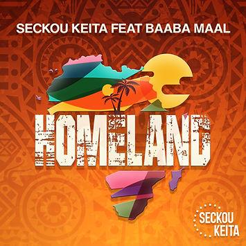Homeland Artwork - Seckou Keita feat Baa