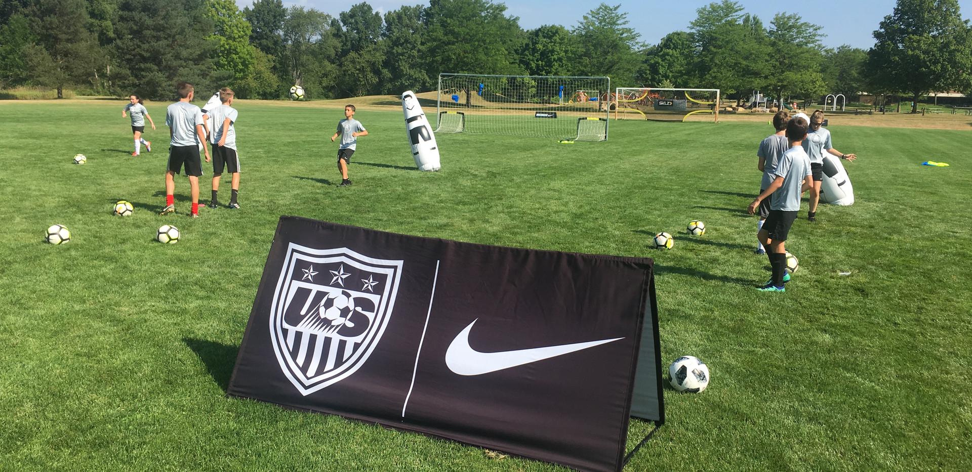 Ann Arbor Soccer Camp
