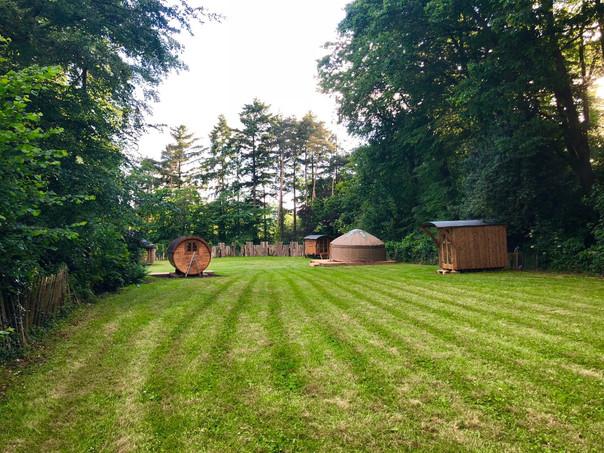 Campsite in Summer 2018