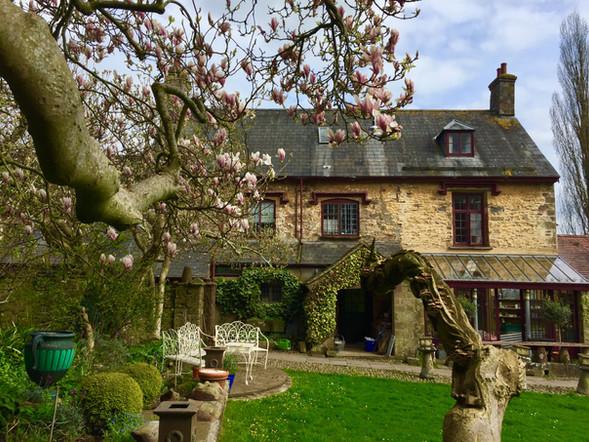 Castle House Magnolia spring 2018