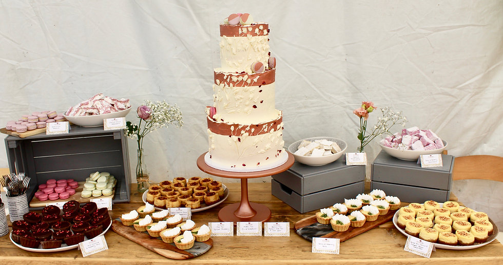 Wedding Dessert Table Cornwall