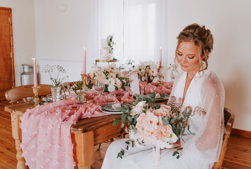 Tregedna Wedding Cornwall