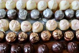 Clotted Cream Belgian Chocolate Truffles