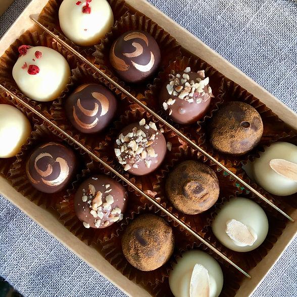 Chocolate Truffles Cornwall