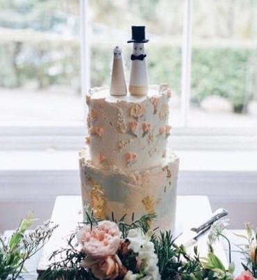 Dairy Free Painted Cake