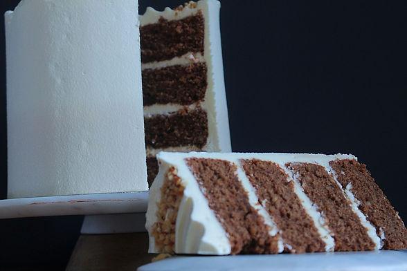 Coffee & hazelnut cake red robin pantry