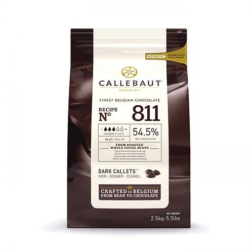 Шоколад темный Callebaut Select 54,5%, пак 2,5 кг