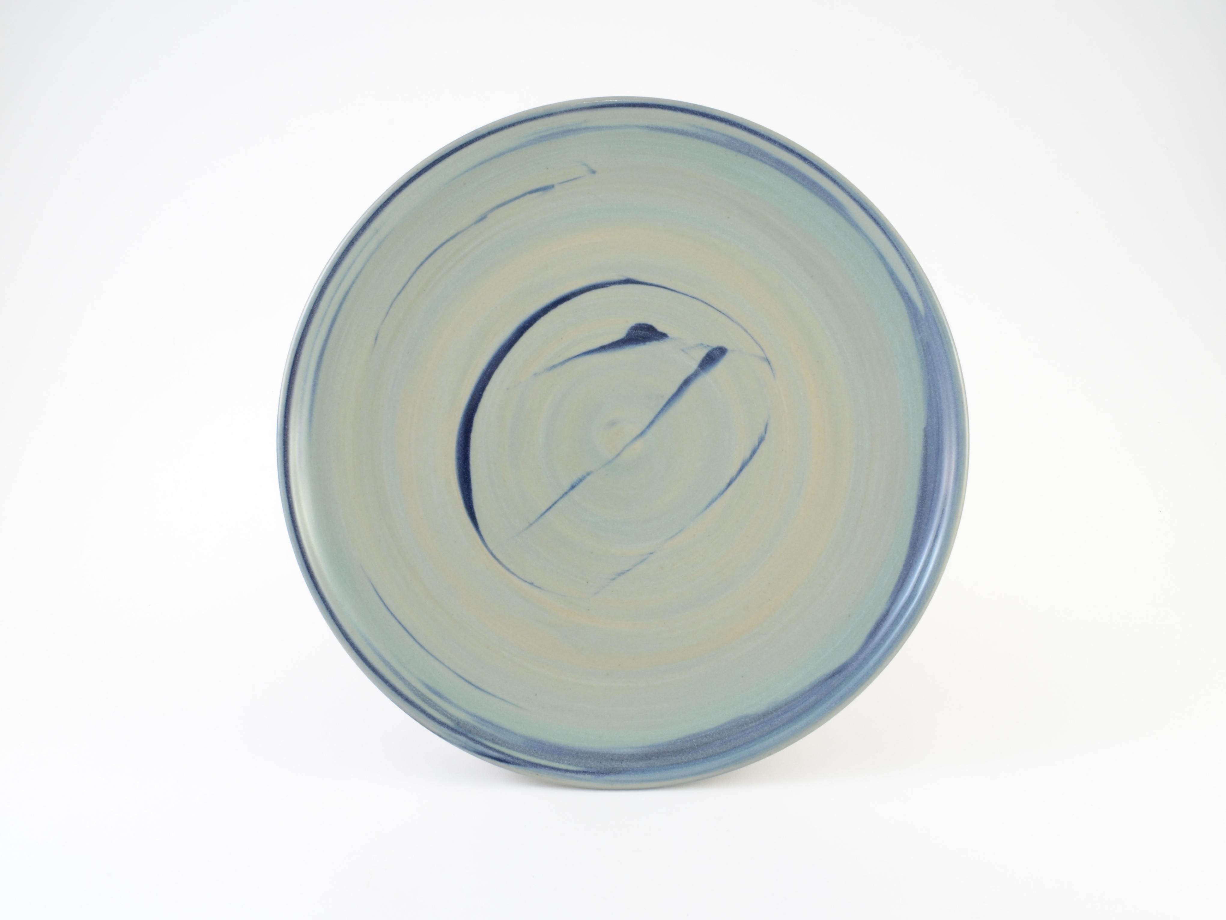 Celadon Blue Slip Plate
