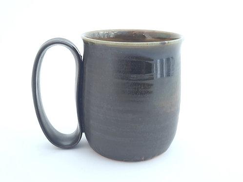 Mottled Matte Black Mug M13