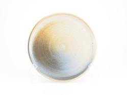 Cream Shino With Rust Blue Blush