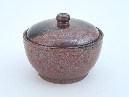 Iron Red Sugar Bowl